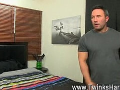 Gay twink anal plug movies Beefy Brock Landon might be straight, but