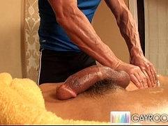 Oily Deep Anal Massage.