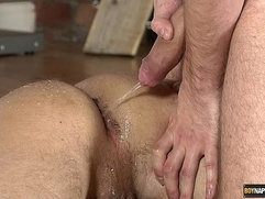 Lucas Davidson gets fucked anally abused and pissed in!