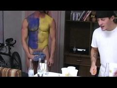 Homo teens initiation cocksucking challenge