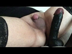 Dirty talking sissy loves getting buttfucked by huge bbc