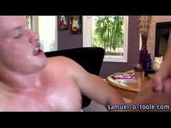 Muscle studs gay cock suck cumshot