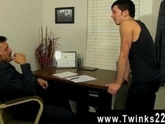 Gay cock Young Ryker Madison has desired his teachers' rod for a long