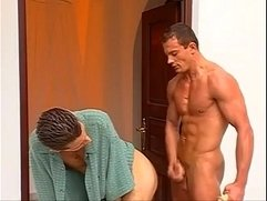 Cock stroking muscled studs turned in to some anal loading adventure