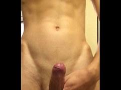 Korean Boy Play Cock With Underwear