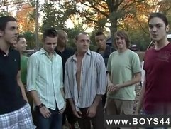 Gay muscle play football Cam Casey's Wild Ride