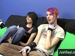 Gay teen boys ass fingering movies Jay choose's Brandon for his very