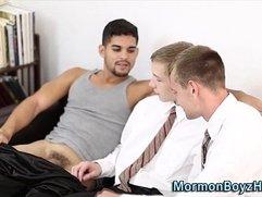 Latin mormon cock gobbled