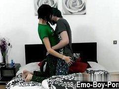 Gay fuck Hot new emo Tyler Ellis demonstrates us just how sexual he