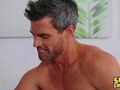 Jock Robbie Sucks Cock then Gets rough Anal Sex Sean Cody