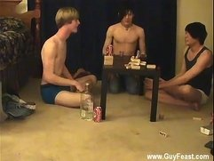 Gay big nuts Trace and William get together with their fresh buddy