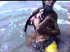 Beach Couple low