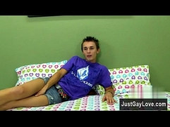 Gay full theme with full length Nineteen yr old Jacobey London is the