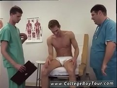 Small boy prostate massage gay porn Dr. Dick put on his stethoscope