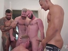 Gang Bang - 2 Dick in 1 Ass - Hard Fuck